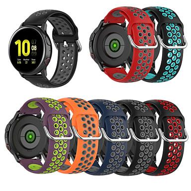 Недорогие Часы для Samsung-силиконовый ремешок для часов samsung galaxy 42mm / активный / активный2 / gear sport / s2 браслет с классическим ремешком