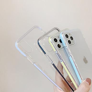 Недорогие Кейсы для iPhone X-Кейс для Назначение Apple iPhone 11 / iPhone 11 Pro / iPhone 11 Pro Max С узором Кейс на заднюю панель Слова / выражения ПК