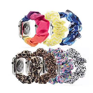 billige Apple Watch-remmer-klokkebånd for apple watch series 5/4/3/2/1 apple sport band / diy tools stoff / mikrofiber håndleddsstropp