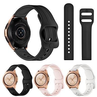 Недорогие Часы для Samsung-ремешок для samsung galaxy watch active 2 galaxy ремешок для часов 42mm gear спортивный браслет ремешок 20mm