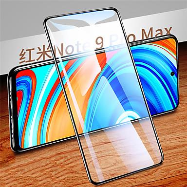 Недорогие Защитные плёнки для экранов Xiaomi-Защитная пленка для экрана xiaomi redmi note 9s / note 9 pro / note 9 pro max Защитная пленка для передней панели из закаленного стекла высокой четкости (hd) / твердость 9 ч