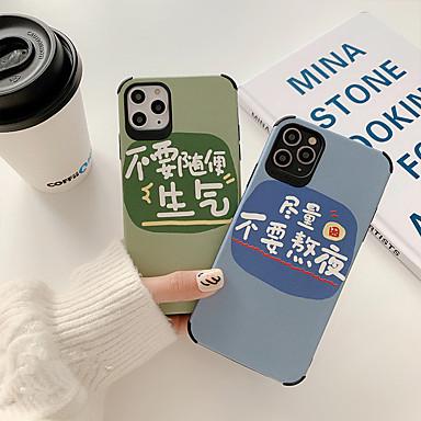 Недорогие Кейсы для iPhone-чехол для appleiphone 7/8 / 7plus / 8plus / iphonex / iphonexs / iphonexr / iphonexsmax / iphone 11 / iphone 11 pro / iphone 11 pro max ударопрочный мобильный чехол для мобильных телефонов