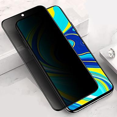Недорогие Защитные плёнки для экранов Xiaomi-защитная пленка для экрана xiaomi redmi note 9s / note 9 pro / note 9 pro max Защитное стекло для экрана с защитой от шпиона, закаленное стекло, высокое разрешение (hd) / твердость 9 ч