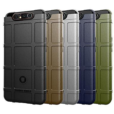 Недорогие Чехол Samsung-чехол для samsung galaxy a90 5g / a80 / a90 / a70e / a81 / a91 / a60 / a50 / a50s / a40 / a30 / a30s противоударная задняя крышка сплошной цветной силикагель