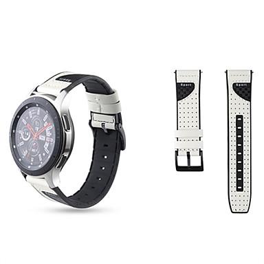 Недорогие Ремешки для часов Huawei-22мм ремешок для часов Huawei GT2 46мм ремешок из натуральной кожи силиконовый браслет ремешок для часов для Huawei GT