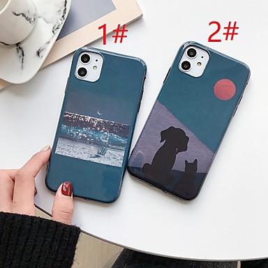 Недорогие Кейсы для iPhone-мультипликационный шаблон imd tpu для Apple iphone case 11 pro max x xr xs max 8 плюс 7 плюс 6 плюс se (2020) задняя крышка
