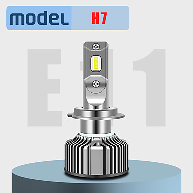 Недорогие Автомобильные фары-2 шт. H1 / h7 / h11 / 9005/9012 супер яркие автомобильные лампочки 20 Вт интегрированные светодиодные 2000 лм светодиодные противотуманные фары безвентиляторные фары