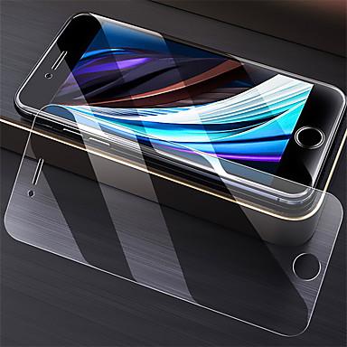 Недорогие Защитные плёнки для экрана iPhone-Защитная пленка для Apple Iphone SE 2020 высокой четкости (HD) / 9h закаленное стекло