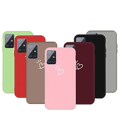 Недорогие Чехол Samsung-чехол для samsung граф сцены samsung galaxy s20 s20 plus s20 ultra a51 a71 маленький образец любви фрукты утолщенные тпу материал все включено чехол для мобильного телефона hc