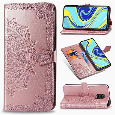 Недорогие Чехлы и кейсы для Xiaomi-Мандала тисненый кожаный бумажник флип-кейс для xiaomi redmi note 9 pro max note 8 pro note 8t redmi 8 8a redmi 7 7a k30 k20 mi 10 pro mi note 10 миль 9t mi 9 se mi cc9 pro cc9e крышка подставки для
