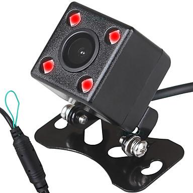Недорогие Камеры заднего вида для авто-ziqiao 480tvl 720 x 480 ccd проводная 170-градусная камера заднего вида водонепроницаемая / plug and play / ночного видения для автомобиля