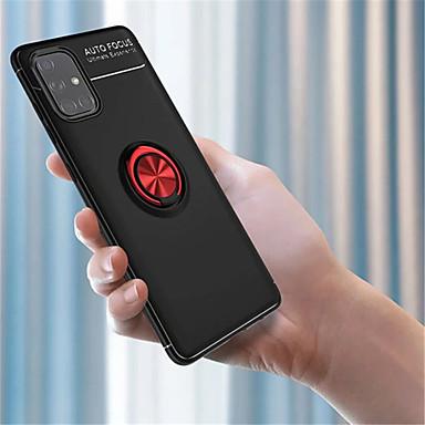Недорогие Чехол Samsung-металлический корпус для Samsung Galaxy S71 5g / a31 / a91 / a81 / a71 / a51 / a51s / a50s / a20s / m31 / мягкий матовый силиконовый противоударный задняя крышка телефона для samsung galaxy s20 plus /