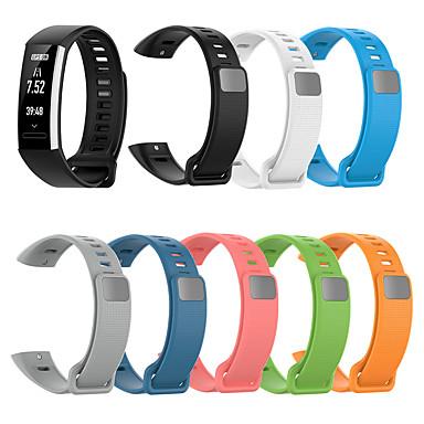 Недорогие Аксессуары для смарт-часов-Ремешок для часов для Хуами Амазфит КОР 2 / Huawei band 2 pro Huawei Спортивный ремешок силиконовый Повязка на запястье