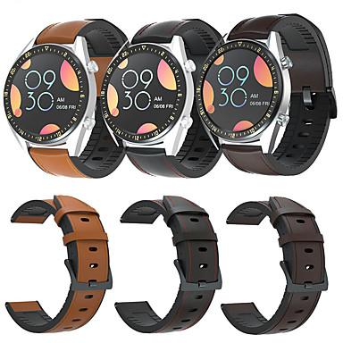 Недорогие Ремешки для часов Huawei-Ремешок для часов для Huawei Watch GT2 46mm Huawei Классическая застежка / Бизнес группа Натуральная кожа Повязка на запястье