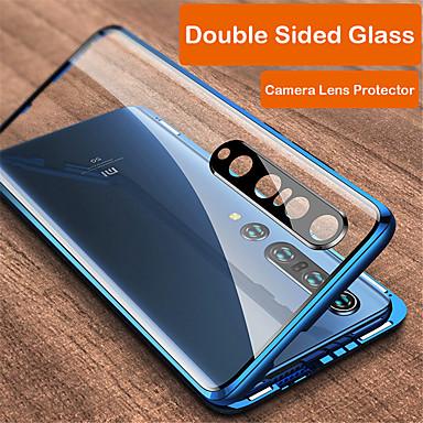 Недорогие Чехлы и кейсы для Xiaomi-магнитная адсорбция закаленное стекло металлический двухсторонний чехол для xiaomi mi 10 / mi 10 pro 360 защитный чехол для xiaomi redmi k30 / k30 pro