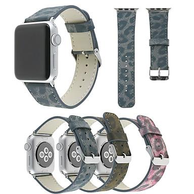 Χαμηλού Κόστους Μπρασελέ για ρολόγια Apple-Παρακολουθήστε Band για Apple Watch Series 5/4/3/2/1 Apple Δερμάτινη Πλέξη Συνθετικό δέρμα με επένδυση Λουράκι Καρπού