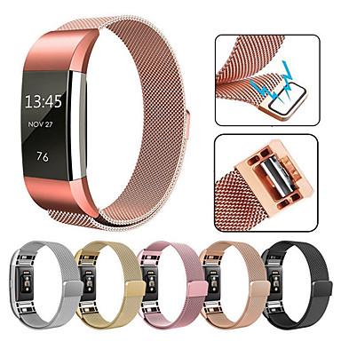 Недорогие Аксессуары для смарт-часов-Для ремня fitbit charge2 milan с браслетом замены кольца milan из нержавеющей стали 316l