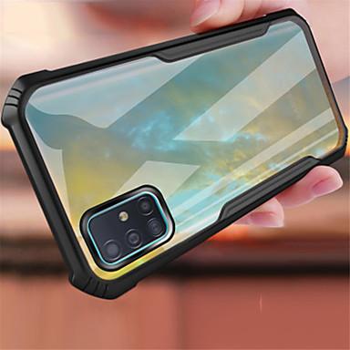 Недорогие Чехол Samsung-противоударный чехол для samsung galaxy s20 / s20 plus / s20ultra прозрачные крышки