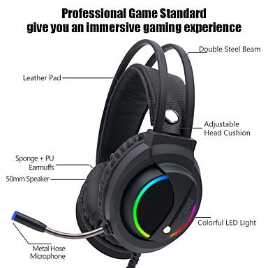 Недорогие Наушники для геймеров-litbest k1 игровая гарнитура проводная стереосистема с регулятором громкости hifi микрофон для игр