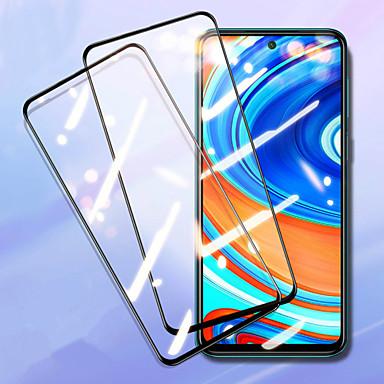Недорогие Защитные плёнки для экранов Xiaomi-2шт 9h протектор экрана из закаленного стекла для xiaomi redmi note 9 / 9s / 9pro / 9pro max / 8 / 8t / 8pro / 7 / 7s / 7pro / 8a / 8 / k30pro / k20 / xiaomi mi 10 / 10pro / 10lite / 9lite / 9t / cc9e