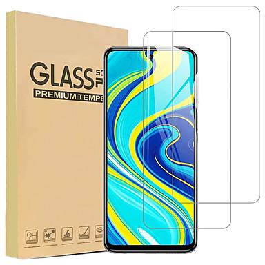 Недорогие Защитные плёнки для экранов Xiaomi-9h пленка из закаленного стекла для xiaomi redmi note 9 / 9pro / 9pro max / 9s / 8t / 8pro / 7pro / 8a / 7a / k30pro / k20 / xiaomi mi 10lite / 9lite / 9t / cc9e / 9 / 9pro