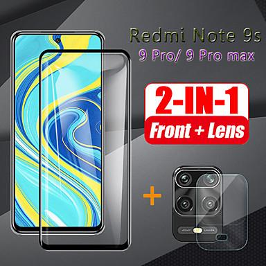 Недорогие Защитные плёнки для экранов Xiaomi-Стекло камеры 2-в-1 для протектора redmi note 9s note 9pro max / 9pro / 7a 8 / 8a / 8pro / 8t / xiaomi mi 10 lite / 9t / cc9 / 9lite / 9se закаленное стекло для стекла xiaomi redmi 9pro