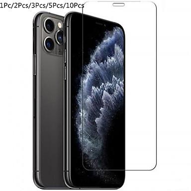 Недорогие Защитные плёнки для экрана iPhone-1pc / 2pc / 3pc / 5pc / 10pc защитная пленка для iphone 11 pro max xs xr 6s 7 8 плюс 5s se 2 защитное стекло с полной крышкой на iphone x 11 pro max закаленное стекло