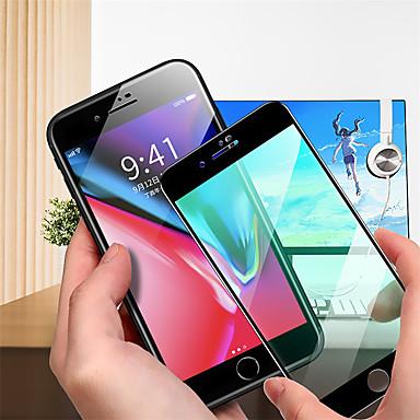 Недорогие Защитные плёнки для экрана iPhone-Защитная пленка для зеленого экрана Apple iphone 8 plus / 8/7 plus / 7/6 plus / 6s plus / 6s / 6 Защитная пленка для экрана из закаленного стекла высокой четкости (hd) / твердость 9 ч