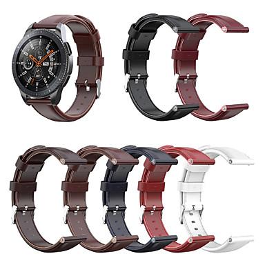 Недорогие Часы для Samsung-ретро кожаный ремешок для часов ремешок на руку для samsung galaxy watch 46mm / gear s3 classic / s3 frontier сменный браслет браслет