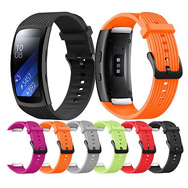 Недорогие Часы для Samsung-Сменный браслет для Samsung Gear Fit 2 Pro / Fit 2 Сменный силиконовый ремешок для часов SmartWatch Fit 2 Pro / Fit 2