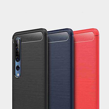 Недорогие Чехлы и кейсы для Xiaomi-чехол для xiaomi redmi note 9 pro / redmi note 9 / redmi note 8 pro противоударная задняя крышка из цельного тпу / углеродное волокно для redmi note 8 / redmi note 8t / redmi 8a / redmi k30