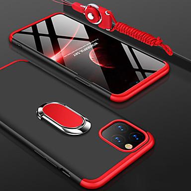 Недорогие Кейсы для iPhone-iphone11pro max чехол «три в одном» для жесткого телефона xs max с кольцевым кронштейном для распределения талреп 360 градусов защита от падения 6/7 / 8plus / se 2020 защитный чехол