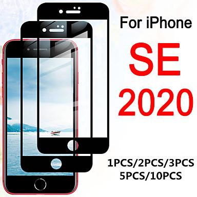Недорогие Защитные плёнки для экрана iPhone-1 шт. / 2 шт. / 3 шт. / 5 шт. / 10 шт. Для iphone se полное покрытие закаленное стекло на для iphone se 2020 протектор экрана aifon se 2nd se2 4.7 защитная сенсорная пленка