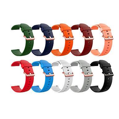 Недорогие Аксессуары для смарт-часов-Ремешок для часов для Сяоми смотреть цвет Xiaomi Спортивный ремешок силиконовый Повязка на запястье