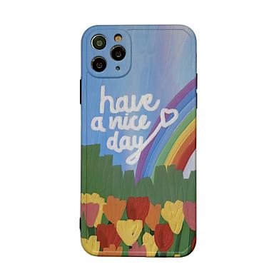 Недорогие Кейсы для iPhone-чехол для яблока iphone 11 / pro11promax / x / xs / xr / xsmax / 8p / 8 / 7p / 7 / se (2020) обложка слово / фраза тпу декорации мягкая оболочка набор для iphone