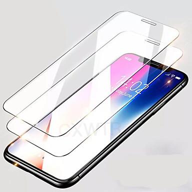 Недорогие Защитные плёнки для экрана iPhone-2шт покрытие из закаленного стекла для iphone 7 6 6s 8 plus стекло iphone 11pro xs max se защитная пленка для экрана защитное стекло на iphone 7 plus
