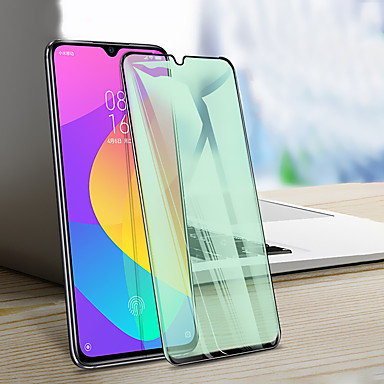 Недорогие Защитные плёнки для экранов Xiaomi-Защитная пленка для зеленого света для xiaomi mi 9/9 pro / cc9 / cc9e / a3 Защитная пленка для экрана с защитой для глаз высокой четкости (hd) / твердость 9ч