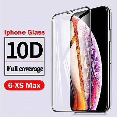 Недорогие Защитные плёнки для экрана iPhone-AppleScreen ProtectoriPhone 11 10D Touch Compatible Защитная пленка для экрана 1 ед. Закаленное стекло