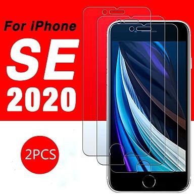 Недорогие Защитные плёнки для экрана iPhone-Закаленное стекло для iphone se 2020 протектор экрана коке на iphone 6 s 7 8 плюс xr xs 11 pro max 11 pro защитная пленка