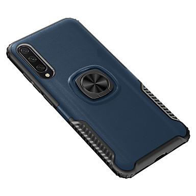 Недорогие Чехлы и кейсы для Xiaomi-чехол для xiaomi xiaomi redmi 9 / 9se / cc9 / cc9e / cc9 pro / 9t / 9t pro / k20 / k20 pro / note 8 / note8 pro / note 8t противоударный / держатель кольца задняя крышка однотонная тпу / пластик