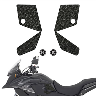 cheap Automotive Exterior Accessories-Motorcycle tank grip fuel tank traction pad side knee grip friction protector sticker for HONDA 13-15 CB500X 13-15 CB500X ABS