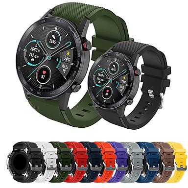 Недорогие Аксессуары для смарт-часов-Спортивный силиконовый ремешок для часов ремешок для часов Huawei GT 2E / Честь волшебные часы 2 46 мм / GT2 46 мм / GT Активные / часы 2 Pro сменный браслет браслет