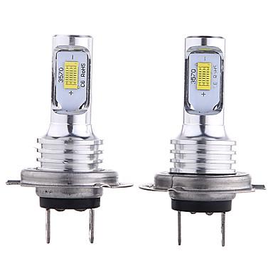 Недорогие Автомобильные фары-отолампара 2шт h10 / h9 / h7 автомобильные лампочки 35 Вт csp 3000 лм 2 светодиодные фары для универсальных всех моделей всех лет
