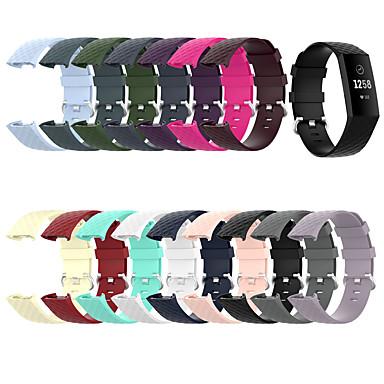 Недорогие Аксессуары для смарт-часов-ремешок для часов для зарядки FitBit 3 / зарядка FitBit 4 силиконовый ремешок Fitbit Sport Band