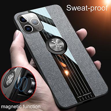 Недорогие Кейсы для iPhone-iphone 11pro max ультратонкий шовный чехол для телефона xs max роскошный силиконовый защитный чехол с магнитным кронштейном для se2020 6/7 / 8plus