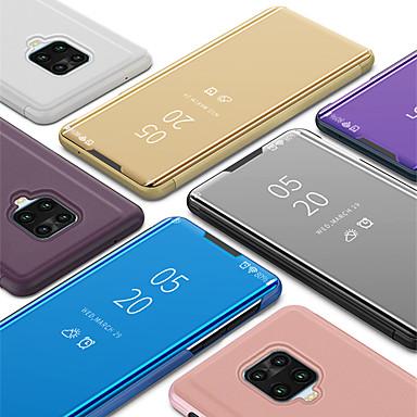 Недорогие Чехлы и кейсы для Xiaomi-чехол для xiaomi redmi note 9 pro note 9 pro max люкс умный ясный вид зеркало зеркальный стенд телефон чехол для redmi note 9s