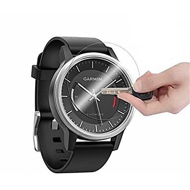 Недорогие Аксессуары для смарт-часов-Защитная пленка из высококачественного закаленного стекла 3 шт. Для Garmin Vivomove