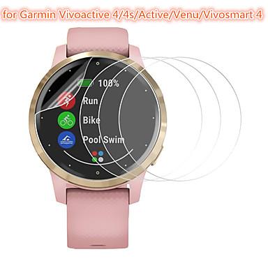 levne Ochranné fólie na chytré hodinky-3 ks ochrana obrazovky pro garmin vivo 4 / 4s / active / venu / vivosmart 4 tvrzené sklo transparentní s vysokým rozlišením (hd) odolné proti poškrábání / tvrdost 9h