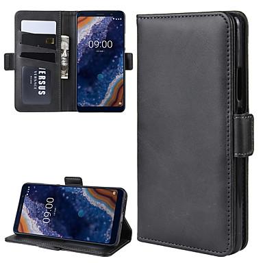 Недорогие Чехлы и кейсы для Nokia-для Nokia 9 pureview кошелек стенд кожаный чехол для мобильного телефона с кошельком&усилитель; держатель&усилитель; слоты для карт