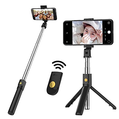 cheap Bluetooth selfie stick-K07 Mobile Phone Bluetooth Selfie Stick With Tripod Integrated Multi-Function Mini Photo Live Artifact Universal